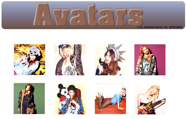 ~Avatars