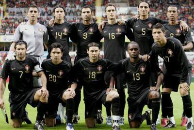 L'équipe du portugal