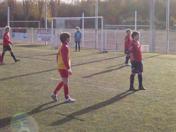 Championnat U13 - 8eme journée phase 1 - Groupe K  (26/11/2011)