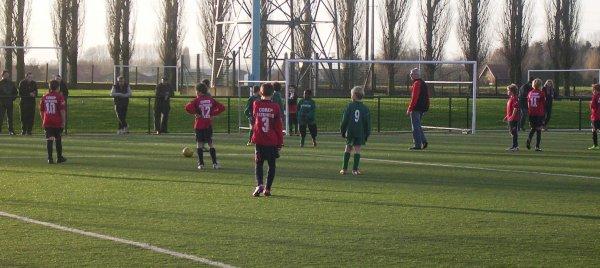 Championnat U13 - 9eme journée phase 1 - Groupe K  (03/12/2011)