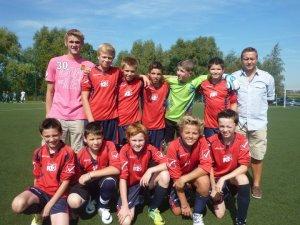 Championnat U13 niveau 1 - 1ere journée phase 1 - Groupe J  (22/09/2012)