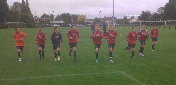 Championnat U13 niveau 1 - 3e journée phase 1 - Groupe J  (06/10/2012)