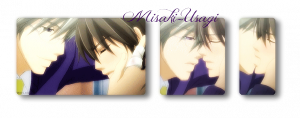 """Misaki, I do not want to lose you, you belong to me, Misaki, I love you """