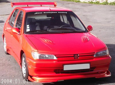 306 tuning rouge