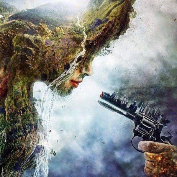 dame nature et le monde actuel!