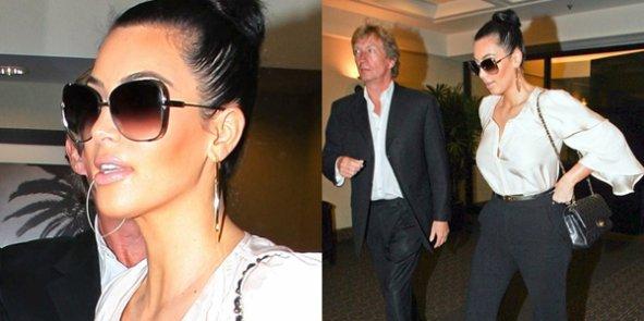 27/10/11 : Kim à rencontré Nigel un producteur de télévision anglais.