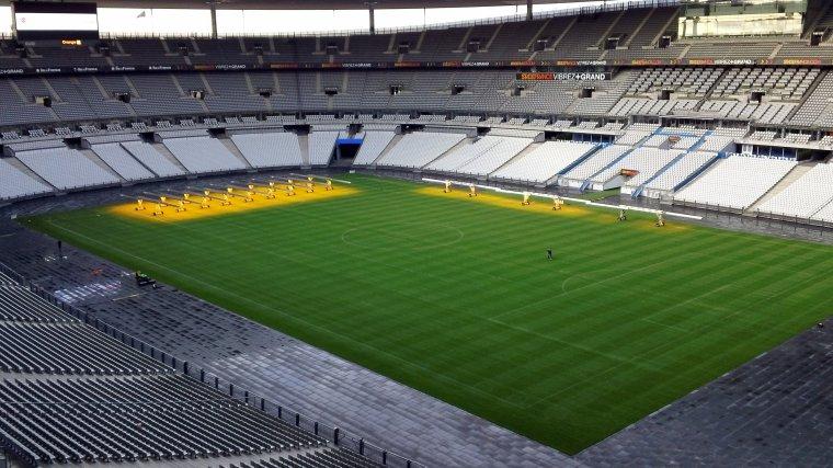 Vue intérieur du Stade de France :