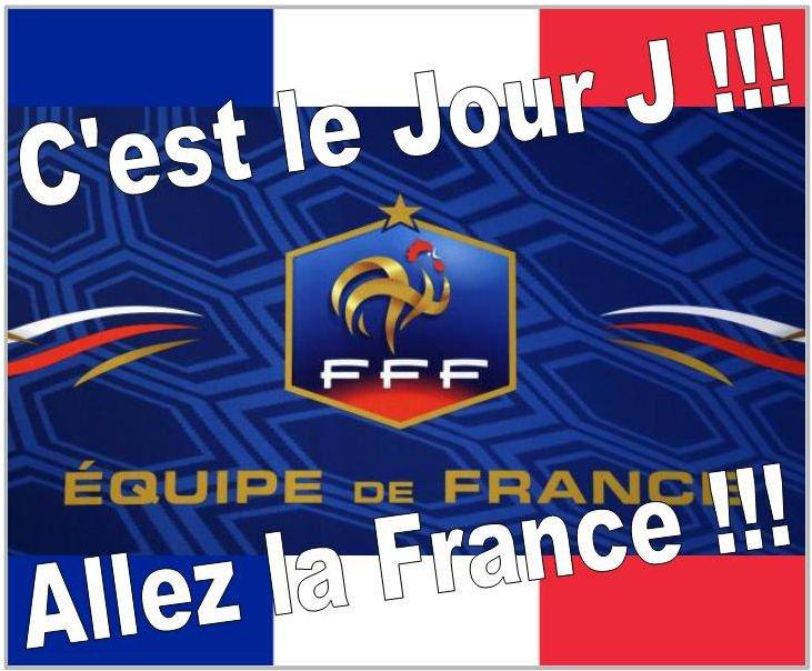 C'est le grand jour pour la France :
