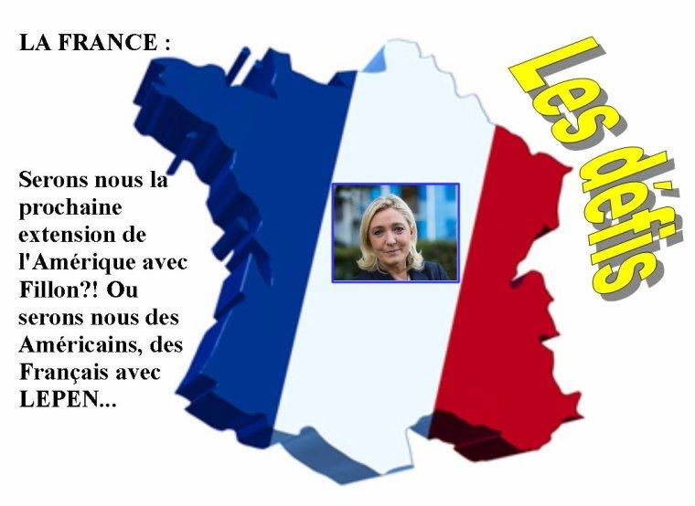 La France un défi pour la planète! ;-)