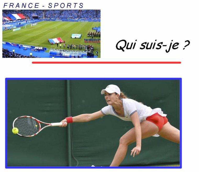 Qui suis-je? Une sportive Française... Mais comment je m'appelle?