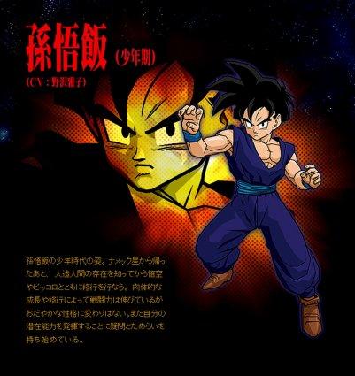 Goku & Gohan & Goten & Vegeta & Trunks.