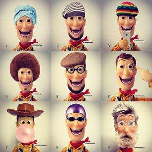 lol j'aime trop !!!  ( laquelle des woody vous aimé ?, moi la 3 et la 7 )