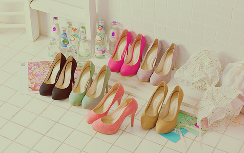 les chaussures ...