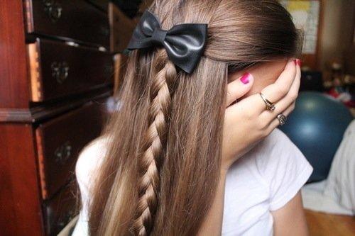 coiffure trop belle ♥