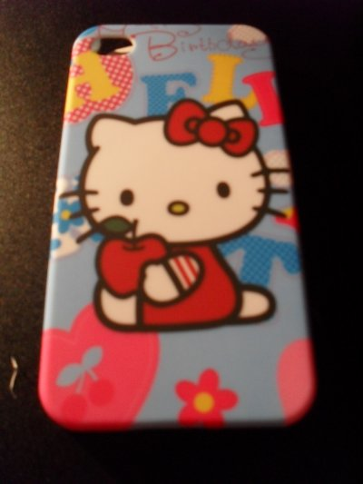 cOque hellO kitty IphOne 4 neuve ! 5e