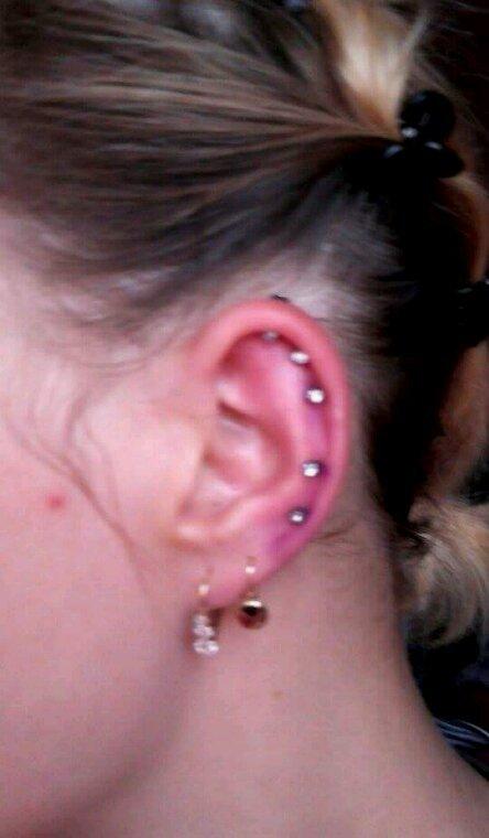 5 piercing ca fait mal! !