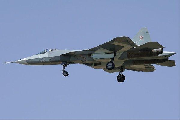 Le Sukhoï T. 50