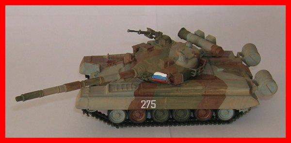 Maquette du T-80 b au 1/72e