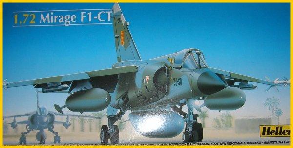 Mirage F1 CT au 1/72e de chez Heller.