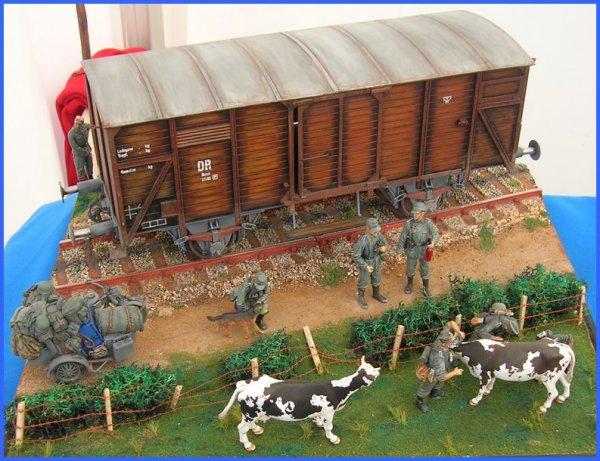 Exposition de maquettes en Lot et Garonne.