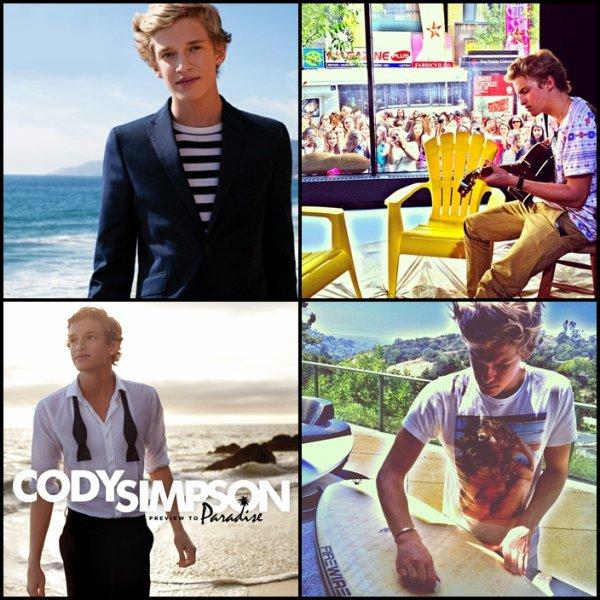 . 22 Juin : Cody était dans le magazine Dolly pour lequel il a fait un photoshoot, et donné une interview..