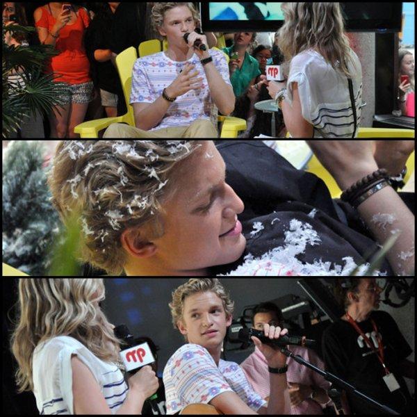 . 19 Juin : Cody était à donné un concert et une interview pour MusiquePlus à Montreal, Canada..