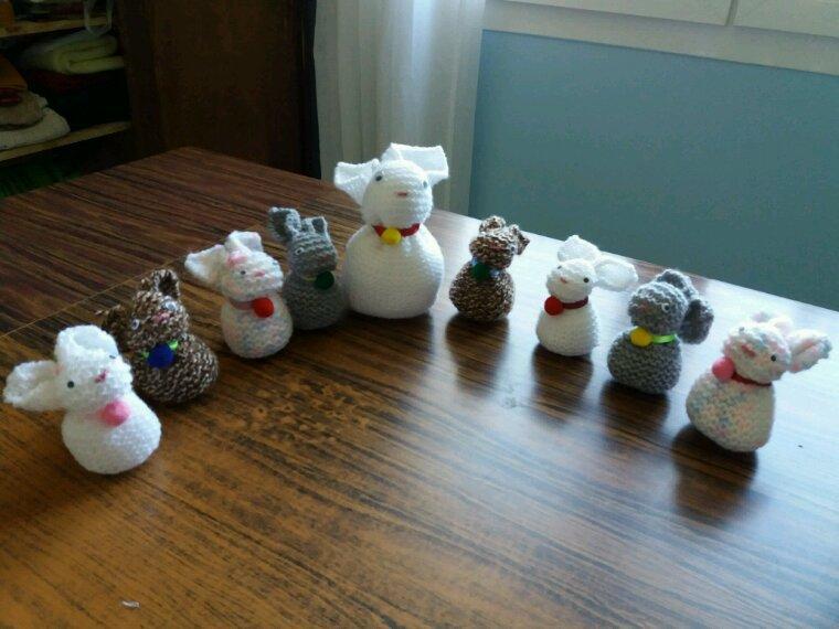 Petits lapins pour Pâques