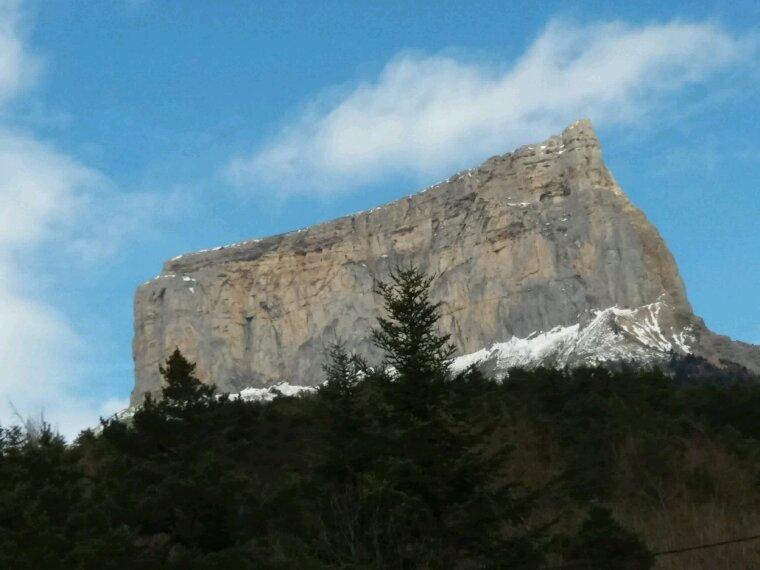 Le Mont Aiguille toujours aussi beau