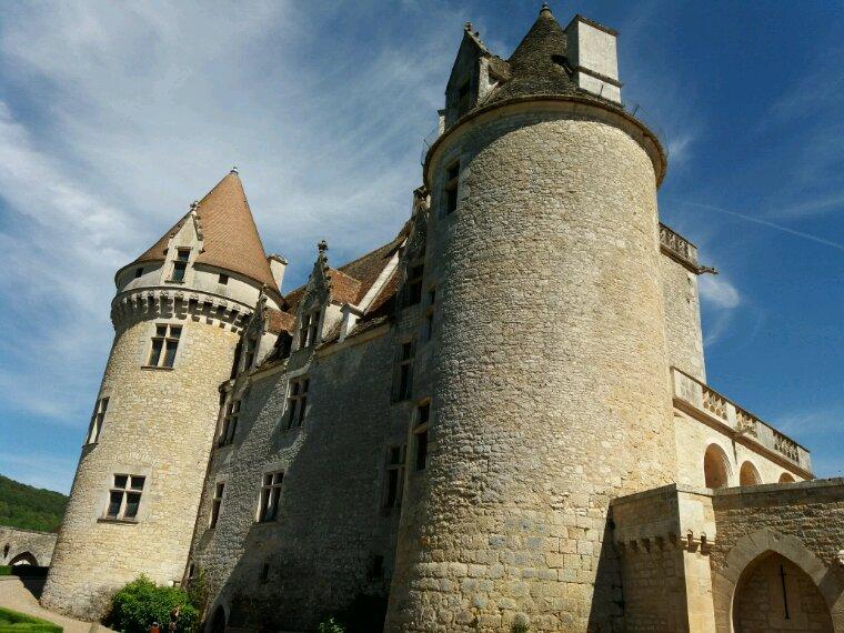 Château de Milandes . Joséphine Baker y a vécue