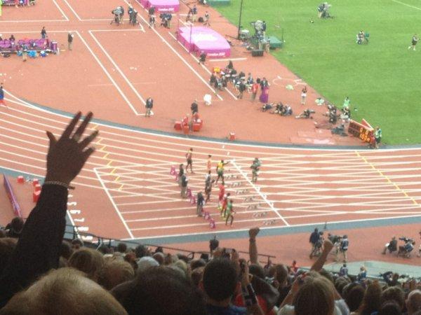 J.O 2012 finale 100metres ^^