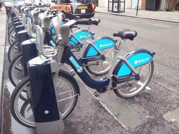 original les vélos a londres ,non?