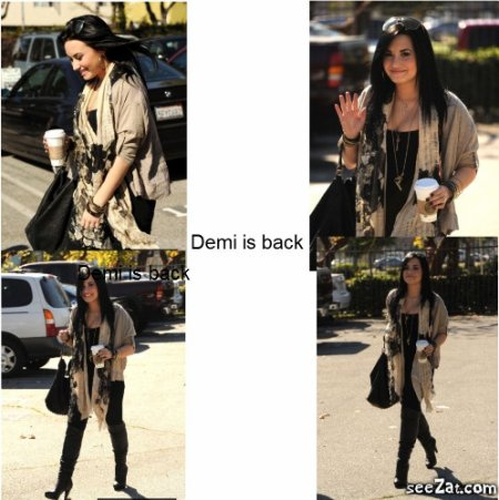 Demi is Back !!