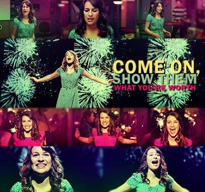 "Lea Michele ""Firework"""