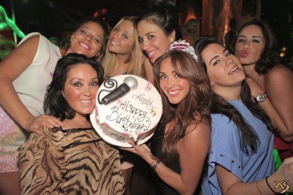 Anahi ne ditlindjen e saj [ 14 MAJ '12 ] ne Las Vegas !