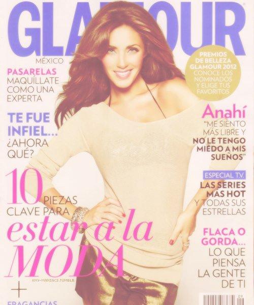 John Russo (Glamour) Anahi ♥