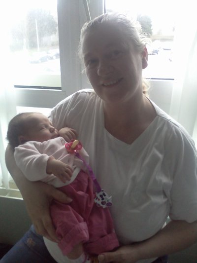 Mamie et sa petite fille Missy