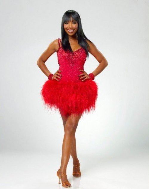 Brandy On Dancing With The Stars