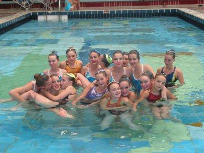 natation synchronisée