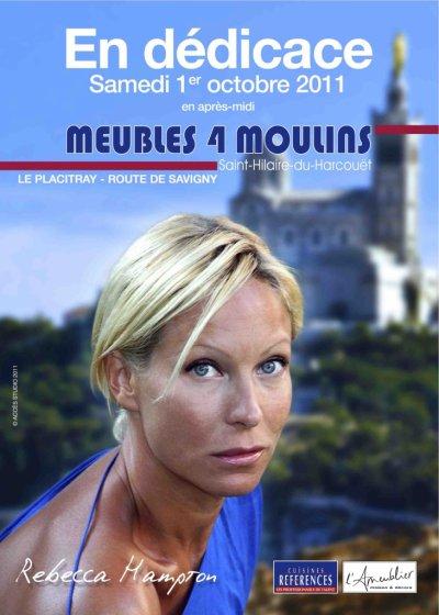 Seance de dédicace de Rebecca Hampton alias Celine Frémont