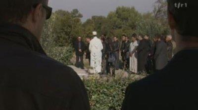Enterrement de Karim Fedala