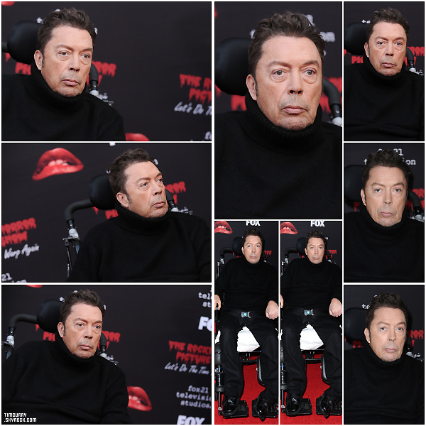 13 octobre 2016 - Tim à l'avant première de Rocky Horror Picture Show: Let's Do The Time Warp Again, en Californie.