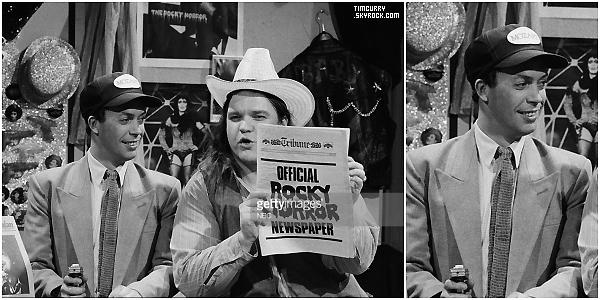 05 Décembre 1981 - Tim et Meat Loaf ont été invités à la septième saison de Saturday Night Live.