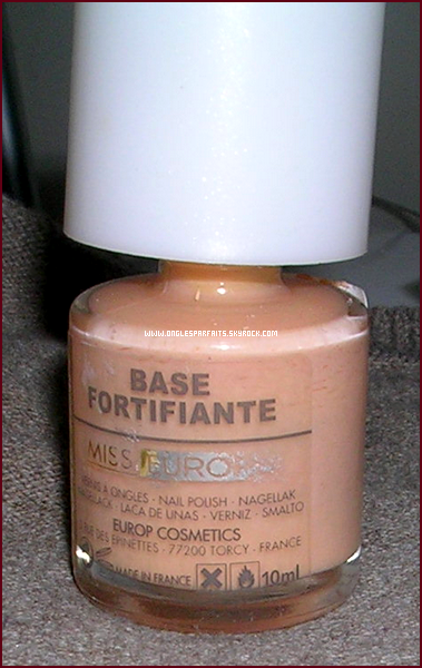 #. Soins > Base Fortifiante (Miss Europe)
