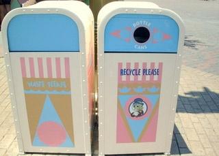 Nouveaux ! Recyclage avec de nouvelle poubelle ! News !