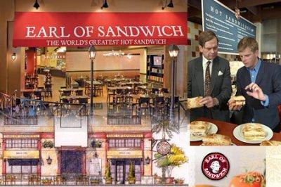 Nouveaux ! Earl of Sandwich restaurant !  News !