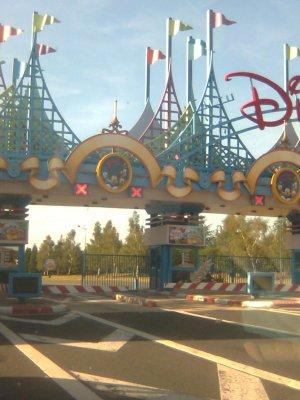 Nouveaux ! enfin problème ! pour l'entrée du parking Disneyland ! Problem !