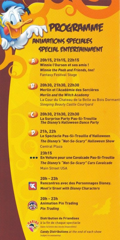 La Fête Pas-Si-Trouille de mickey !Mickey's Not-So-Scary Halloween PARTY !