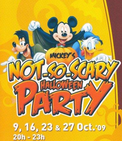 La Fête Pas-Si-Trouille de mickey !Mickey's Not-So-Scary Halloween PARTY !