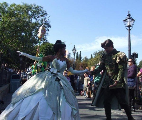 La princesse et la grenouille !