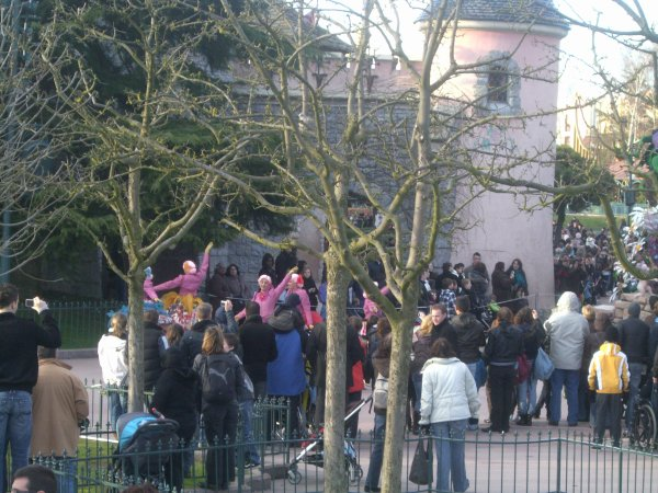 Disney's once upon a dream parade !